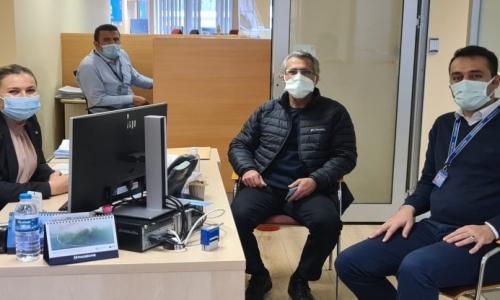 SAMSUN ZİRAAT VE HALK BANKASI ŞUBELERİ ZİYARET EDİLDİ